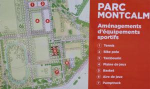 Carte Parc Montcalm