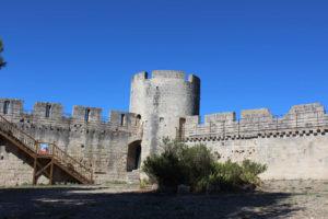 Intérieur du château de Beaucaire