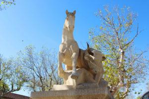 Taureau et cheval (statue)
